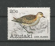 Aitutaki 1981 Bird Y.T. 296 (0) - Aitutaki