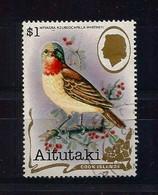 Aitutaki 1982 Bird Y.T. 316 (0) - Aitutaki