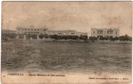 3XL 439 CPA - FERRYVILLE - HOPITAL MARITIME DE SIDI ABDALLAH - Tunesien
