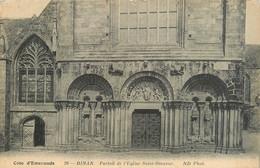 CPA Dinan-Portail De L'église Saint Sauveur     L498 - Dinan