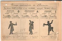 31ksps 943 CPA - GROUPE ESPERANTISTE DE BEAUNE - Beaune