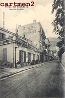 "RARE CPA : MONACO MONTE-CARLO "" HOTEL DES GOURMETS "" - Monte-Carlo"