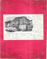LAROQUE DE TAUT Près BLAYE - 33 - CPA DOS SIMPLE De 1901 - Habitations Dans Les Rochers - OGE1 - - Blaye