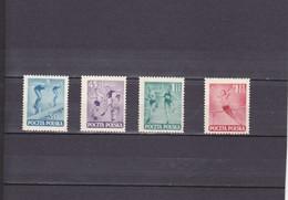 SERIE SPORTIVE ET SUJETS DIVERS/NEUF */4 VALEURS  /N°654/657  YVERT ET TELLIER 1952 - Unused Stamps