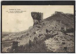 48179 . GORGES DU TARN . ROUTE DU ROZIER A MILLAU . LE CHATEAU DE PEYRELADE - Gorges Du Tarn