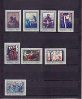PEINTURES POLONAISES DIVERSES/NEUF* */8 VALEURS  /N°1714/1721  YVERT ET TELLIER 1968 - Unused Stamps