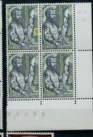 Bloc De 4 Cdf  N° 1281 - V2 - Chiffres Manquant Dans La Date  - (état: **) - Plaatfouten (Catalogus OCB)