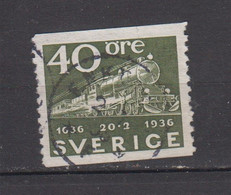 SUEDE ° 1936 YT N° 242 - Used Stamps