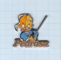 Pin's Moto Pedrosa Le Samurai Signé Daring Neuf - Motorfietsen