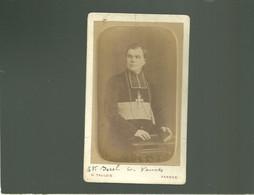56 Cliché Cdv Mgr BECEL évêque De Vannes Par Taulois Photo à Vannes , Photo 19e Entre 01/1877 Et 1881 - Vannes