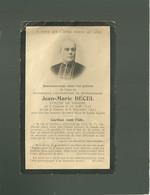 56 Faire Part De Décès Avec Photo  Jean Marie Becel  évêque De Vannes Le 06 Nov. 1897 - Vannes