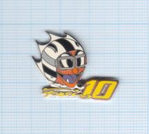Pin's Moto Fonsi N° 10 (Nieto) Signé Daring Neuf - Motorfietsen