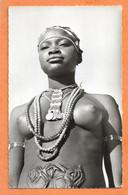 C.P.S.M. -- TCHAD -- FORT ARCHAMBAUT -- Femme Sara Madiigaye -NUS - SEINS - NUS -NUS ETHNIQUES - PHOTO VERITABLE - África
