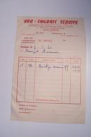 LE  LUC   -VAR- ENGRAIS SERVICE   - Produits SAINT- GOBAIN - AGRICULTURE  ( 1960 ) - Publicidad