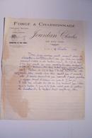 LE  LUC ( Var )  - JOURDAN CHarles   - FORGE & CHARRONAGE - 1950 - ...