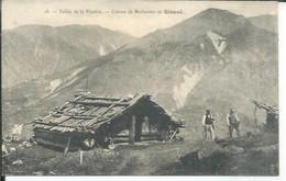 18 - VALLEE DE LA VESUBIE - CABANE DE BUCHERONS AU SIRUOL  ( Animées ) - Altri Comuni