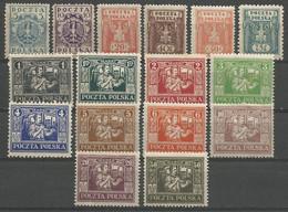 Poland,Local Issue-Regular Expenses(Regulare Ausgaben) 1922.,MLH - Unused Stamps