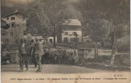 74 SIXT La Place (x) Ancienne Maison Ou A Logé St François De Sales - L'inalpage Des Moutons Edit FP - Sixt-Fer-à-Cheval