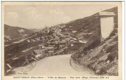 Cpa 05 Saint Veran , Vallée Du Queyras, Voyagée 1935 - Altri Comuni