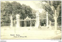 Madrid. Parque Del Retiro, Puerta De Alphonso Xll. - Madrid
