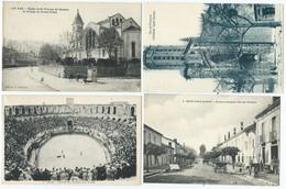 Lot 1000 Cpa France Type Drouille Avec Petites Animations - 500 Postcards Min.