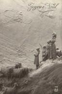 Mastroianni Joyeux Noel Avion Moutons Personnages Recto Verso - Altri