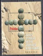 Poland  2010 - Memory Day Of Victims Of Katyń Crime - Mi Ms 193 - MNH(**) - Blocks & Sheetlets & Panes