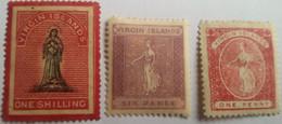 Iles Vierges Britaniques - Virgin Islands -N° 7, 16 Et 18 * (MH )  - 2 Photos - Petit Prix - British Virgin Islands