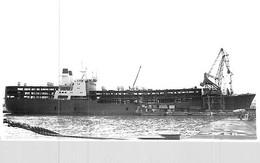 """Photo Bateau """" Siba Queen """" Ex """"Rochambeau """" . C.G.T Compagnie Générale Transatlantique - Barche"""