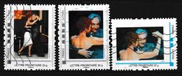 406 - TANGO ARGENTIN - Timbres Personnalisés, Couple Aux Championnats D'Europe 2011 - Music