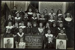 Carte Photo - From The Children Of Thumaide - WW1 - Guerre 14-18 - Ecole Filles - Remerciements Aux Américains - Beloeil