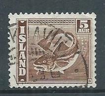 Islande YT N°173 Morue Oblitéré ° - Gebraucht