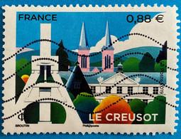 France 2019 : Le Creusot N° 5345 Oblitéré - Usati