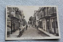 Luc Sur Mer, La Rue De La Mer, Calvados 14 - Luc Sur Mer
