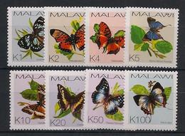 Malawi - 2002 - N°Yv. 705 à 712 - Papillons / Butterflies - Neuf Luxe ** / MNH / Postfrisch - Mariposas