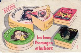 BUVARD -  Les Bons Produits Saint Hubert - Laiterie Nancy - Camembert - Révérend - Unclassified