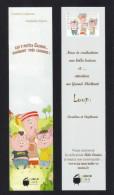 Marque Page.    Editions La Marmite à Mots Jeunesse.   Bookmark - Bookmarks