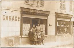 CARTE PHOTO   -- AVILLY-SAINT-LEONARD ( OISE )  --   EPICERIE-MERCERIE Maison Mme MARIN - A Identificar