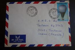 Lettre De DJIBOUTI - Brieven En Documenten