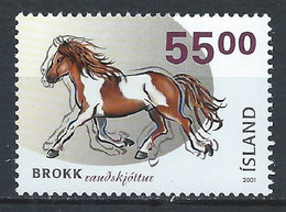 Islande YT 915C Neuf Sans Charnière XX MNH Cheval Horse - Ungebraucht