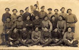 CARTE PHOTO   Militaires ( Le  L.congo SETIF ) - Uniformes