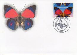 Regard Sur La Nature, Papillon Sardanapale -.Timbre 2,70 F, 0.41 €. Carte Premier Jour 17.06.2000  - TBE - Butterflies