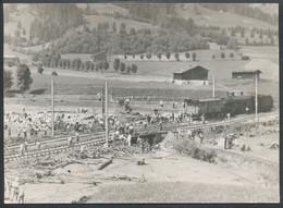 Foto  -  Kitzbühel  Mure  Zerstörte Bahnkörper  1929 - Unclassified