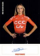 CYCLISME: CYCLISTE : INGE VAN DER HEIJDEN - Cycling