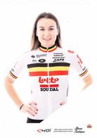 CYCLISME: CYCLISTE : ALANA CASTRIQUE ( EKOI ) - Cycling