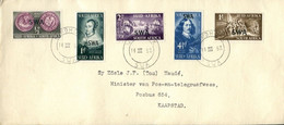 South West Africa Südwestafrika Mi# 269-73 Used On Letter Or FDC -  Jan Van Riebeeck - Settlers From Netherlands - Südwestafrika (1923-1990)
