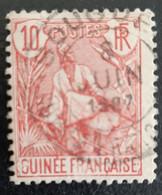 GUINEE    Berger Pulas     N° Y&T  22 (o) - Usados