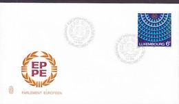 Luxembourg Premier Jour Lettre FDC Cover 1979 Parlement Europeen Europäischen Parlament European Parliament - FDC