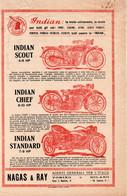 INDIAN MOTOCYCLE - NAGAS & RAY - TORINO MILANO - Werbung