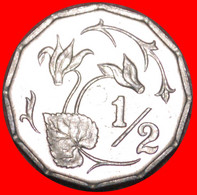 • FLOWER: CYPRUS ★ 1/2 CENT 1983 MINT LUSTER! LOW START ★ NO RESERVE! - Cyprus